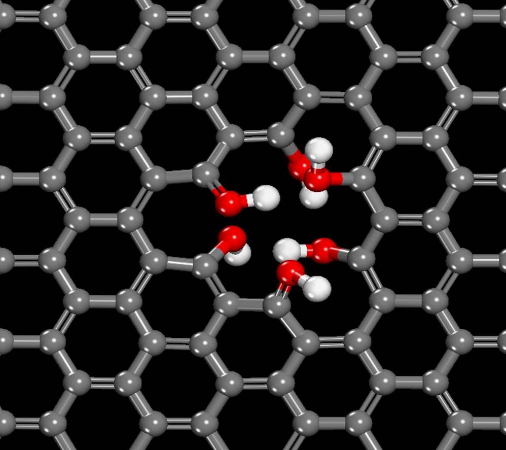 Supernatural Powers Of Graphene's Lies In Its Imperfection